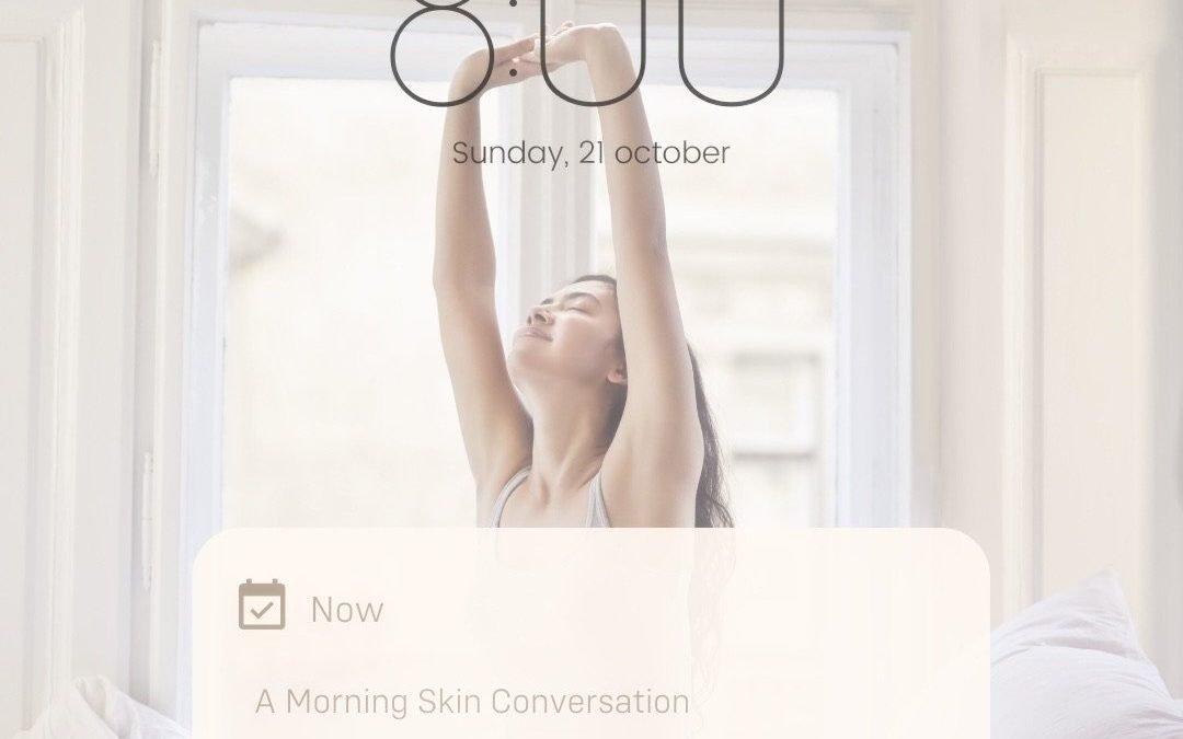 morning phone notification