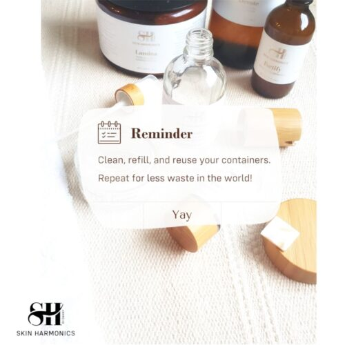 How To Wash & Reuse Skin Harmonics Containers