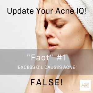 Does Excess Oil On Skin Cause Acne? – Skin Mythbusting