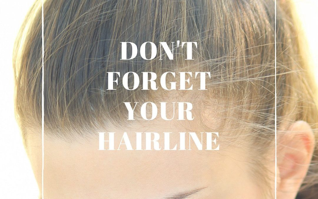 How To Best Care For Your Hairline