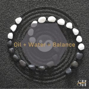 How Oil & Water Combine For Healthy Skin